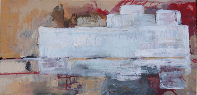 Lot, 12 x 24 Acrylic on Canvas 2015