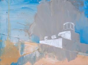 Renovation, 18 x 24 Acrylic on Canvas, 2015