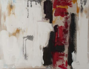 "Rot, Acrylic on canvas, 16"" X 20"" 2013"